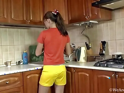 Slutty Thai Girl With Real Angel So Fucking In Kitchen