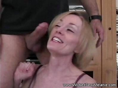 Mom grasps MILF dick she sells his house