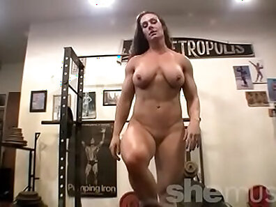 Brenda Rivera Syniton Dirty Nudes In The Gym